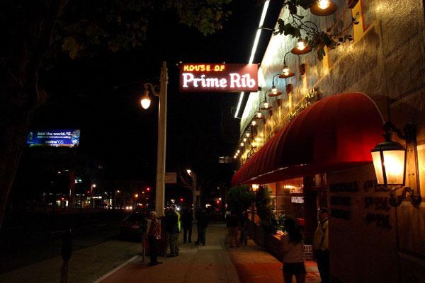 House of Prime Rib | 1906 Van Ness Ave, San Francisco | 415.885.4605